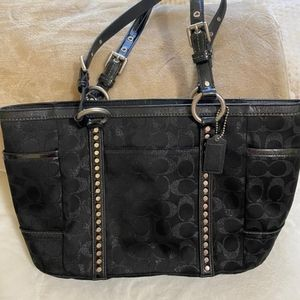 Gently used*** Black Coach Purse